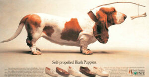 Jason, el Basset Hound de Hush Puppies